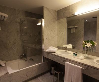 Cuarto de baño Hotel Conqueridor